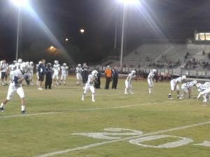 Cactus Shadows football