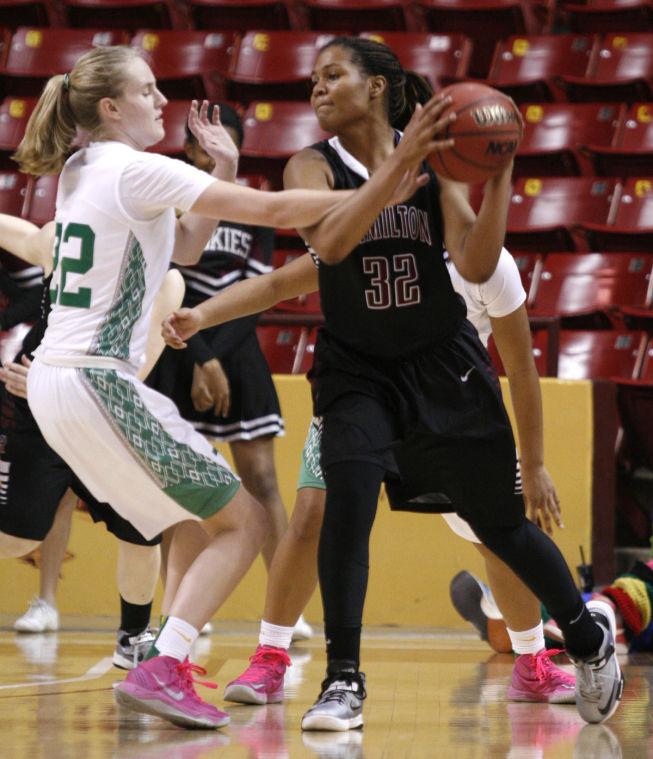 St. Mary's vs. Hamilton Division I Basketball Semifinal