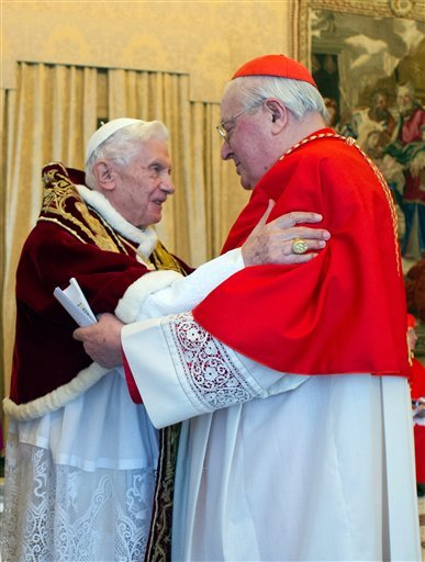 Benedict XVI, Angleo Sodano