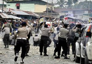 Indonesia Freeport Shooting
