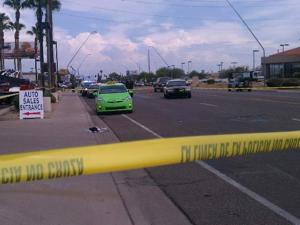 Cab driver shot in Mesa