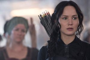 "<p>Jennifer Lawrence stars as Katniss Everdeen 'The Hunger Games: Mockingjay – Part 1."" [Murray Close]</p>"