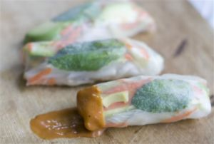 Food Deadline Spring Rolls