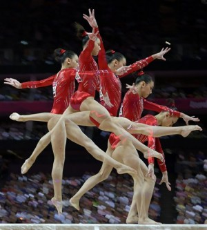 London Olympics Artistic Gymnastics Women