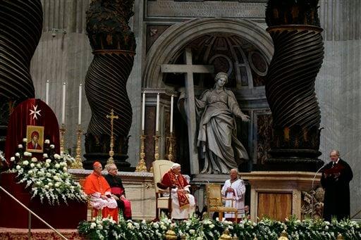 Benedict XVI, Matthew Festing, Tarcisio Bertone