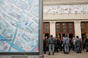 Chechen militant claims Moscow subway blasts
