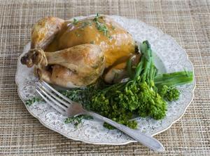 Food-Healthy-Cornish Hens
