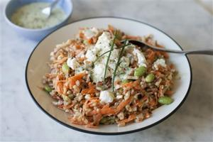 Food Healthy Farro Salad