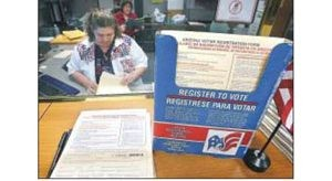 Courts voter ID ban clouds election rules 