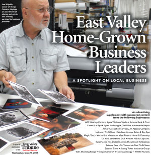 'East Valley Home-Grown Business Leaders'
