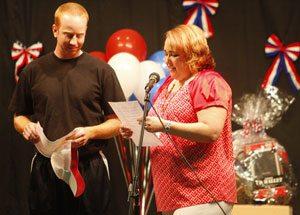 Q.C. school honors teacher leaving for military