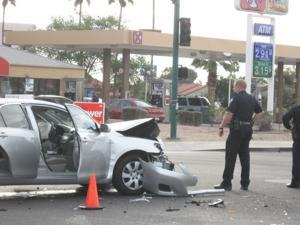 Elliot Road car wreck