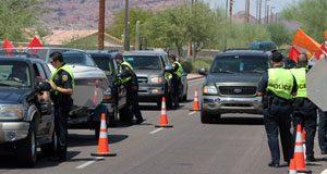 Hundreds arrested for DUI in weekend crackdown