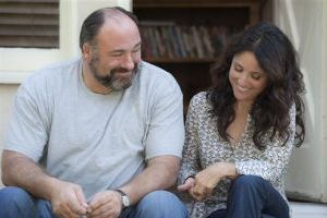 Julia Louis-Dreyfus and James Gandolfini