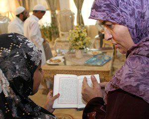Muslims prepare for Ramadan, their month of fasting