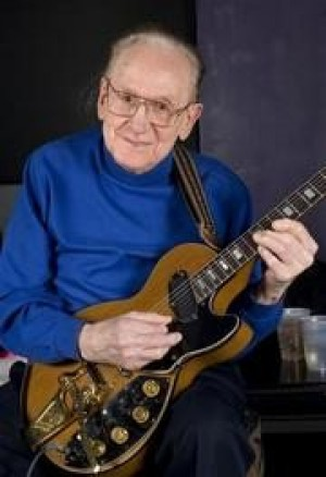 Guitar hero Les Paul ready for Rock Hall tribute