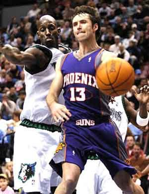 Nash hands out 15 assists; Suns roll by Timberwolves, 116-104