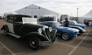 Celebrities, star vehicles boost the drive of Barrett-Jackson