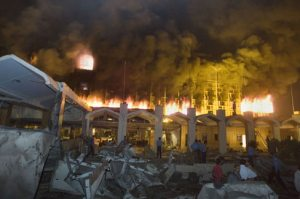 Suicide bomb guts Pakistan Marriott hotel; 42 dead