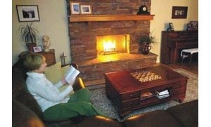 Keep the fire in the fireplace with maintenance