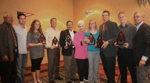 Arizona baseball, softball players honored