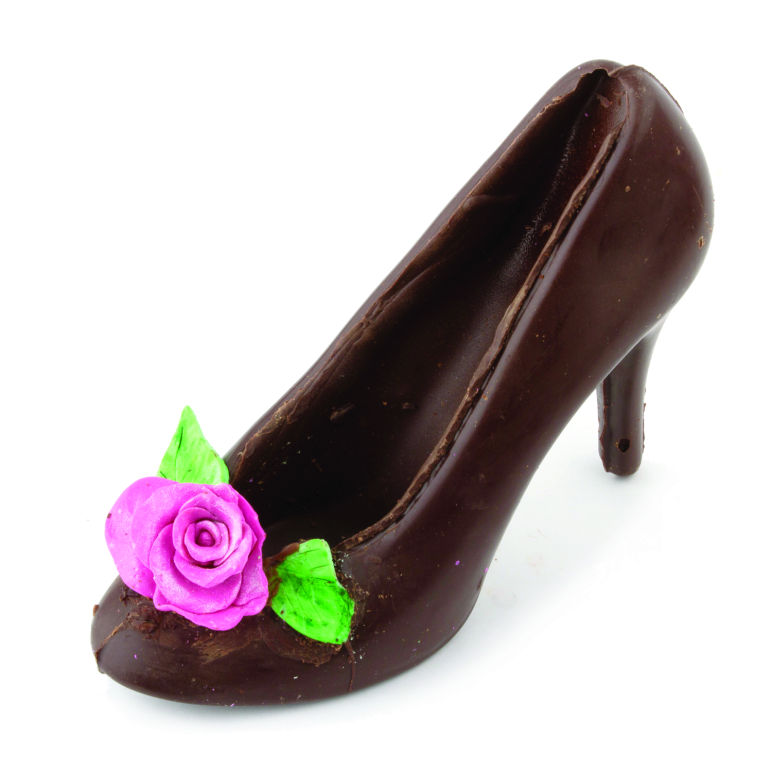 Belgian Chocolate Shoe