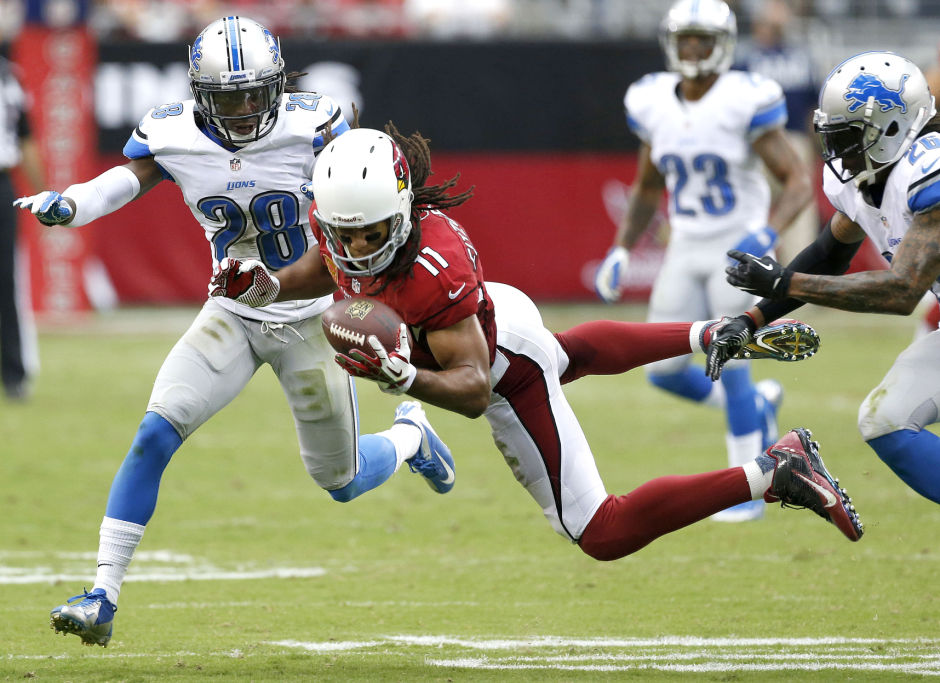 Larry Fitzgerald, Bill Bentley, Louis Delmas