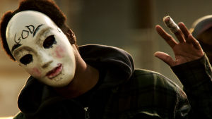 "<p>An image from the film, ""The Purge: Anarchy"" [<span>(AP Photo/Universal Pictures]</span></p>"