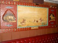 <p>This work by famous western artist Dee Flagg will be auctioned off with Monti's other memorabilia on Thursday, Dec. 4.</p>