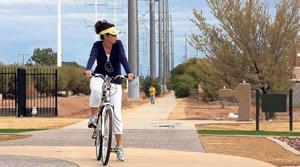 Gilbert walking, biking trail nears completion