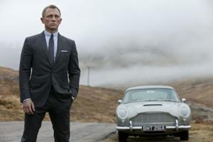 Daniel Craig as James Bond 007 in