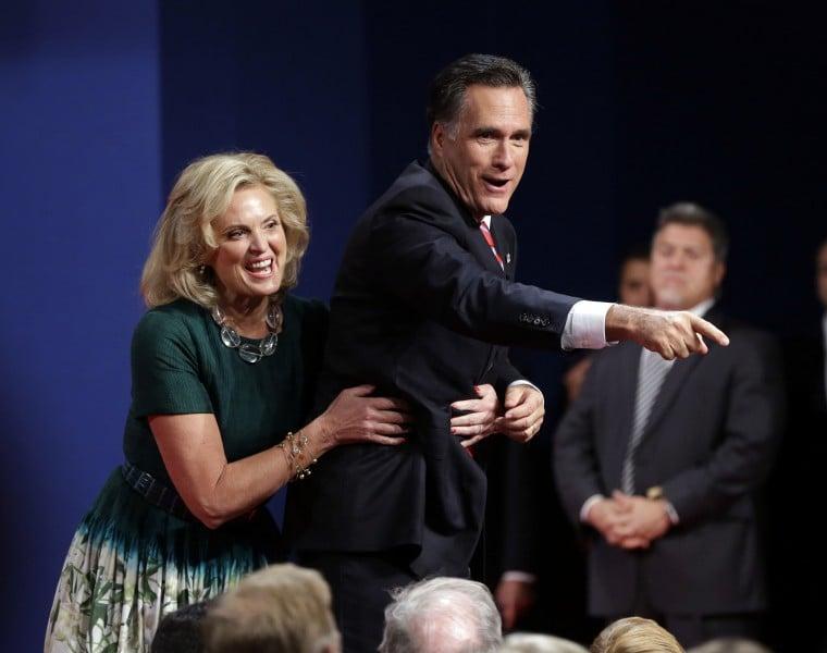 Ann Romeny, Mitt Romney,