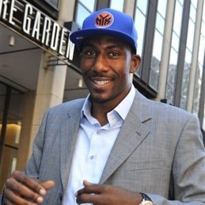 Knicks Stoudemire Basketball