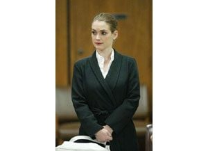 Judge commends actress Winona Ryder