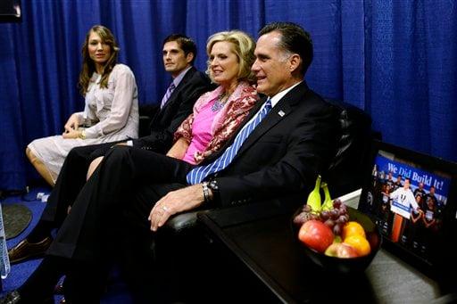 MItt Romney, Ann Romney, Matt Romney