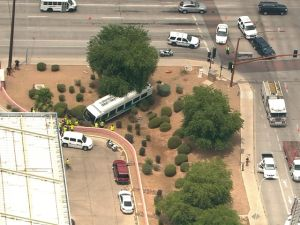 Valley Metro bus involved in Chandler collision