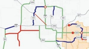 Transportation needs create East-West split 