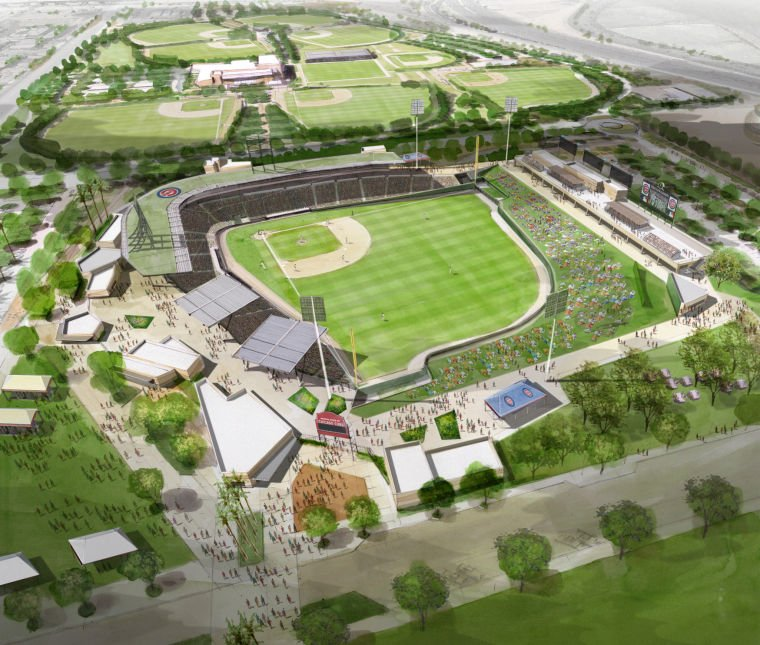 Cubs New Mesa Stadium
