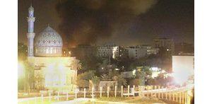 Bomb destroys Baghdad hotel, killing 27