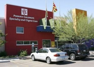 Health care corridor forms along Higley Road