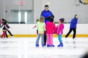 Olympics spark kids' interest in ice sports