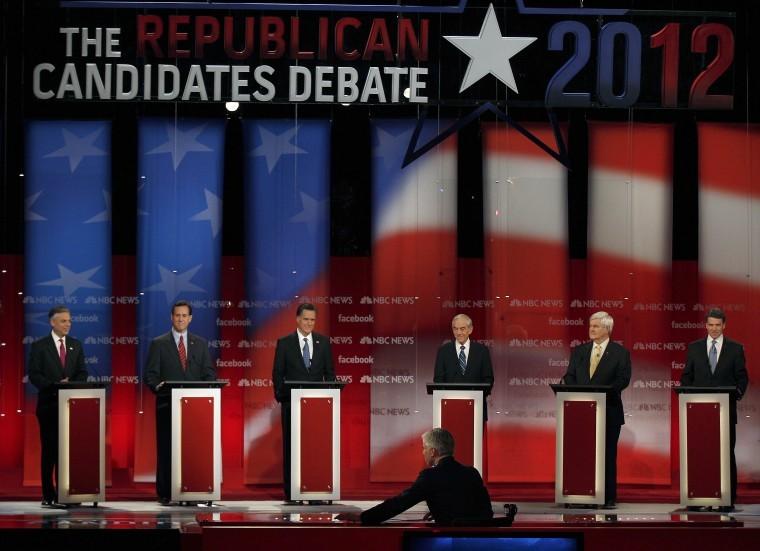 2012 Republican Presidential Candidates Debate