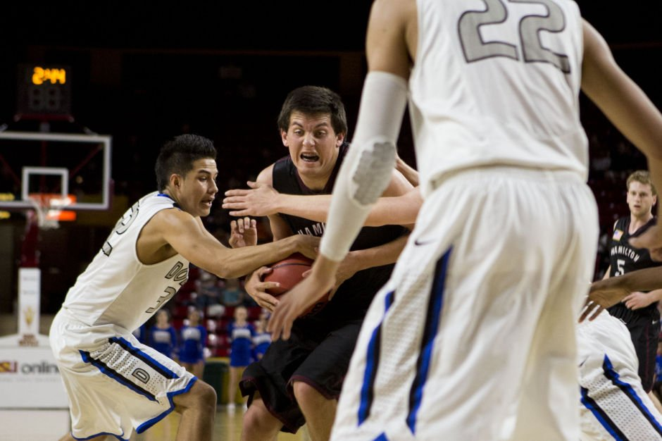 Boys Basketball: Dobson vs. Hamilton