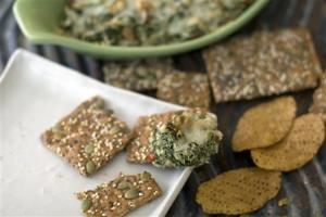 Food Healthy Artichoke Spinach Dip
