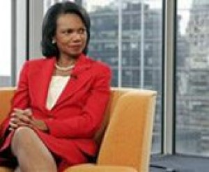 Rice challenges Clinton on terror record
