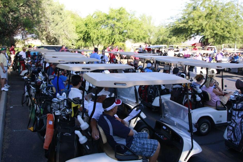 Red Mountain boys golf fundraiser