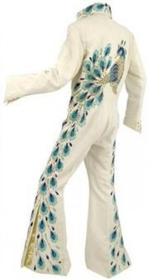 Elvis' peacock jumpsuit sells for $300K