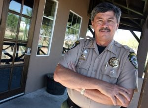 Pinal sheriff fights crime, budget problems