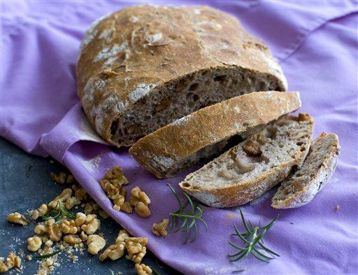 Food Healthy No Knead Bread