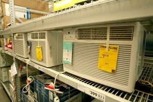 Window AC units cool down fast and cheap